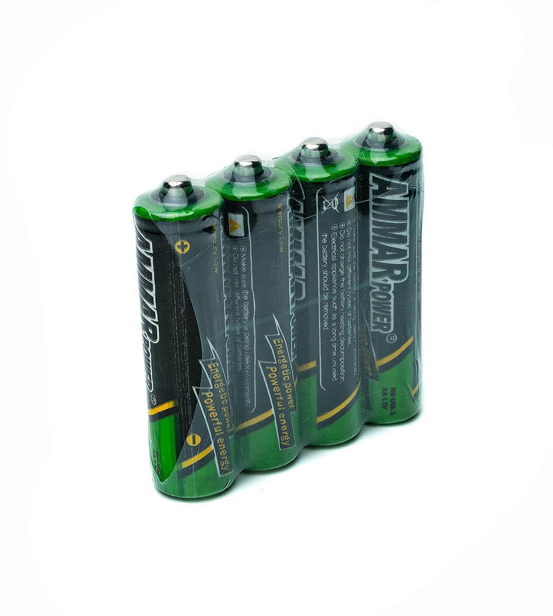 Батарейка АА R6 AMMAR Power 4шт с