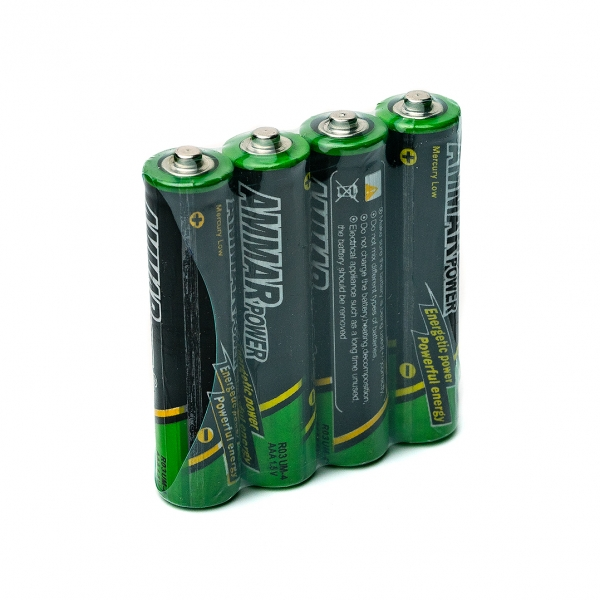 Батарейка ААA R03 AMMAR Power 4шт с