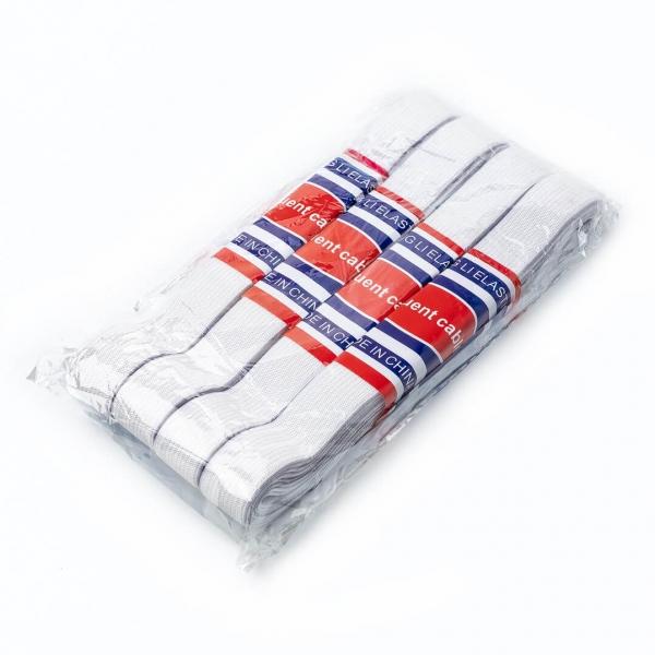 Резинка для белья белая 3мх2см с