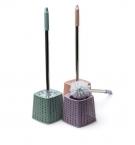 Ершик для унитаза плетение квадрат 8549 с
