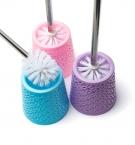 Щетка для унитаза плетение круглая с