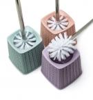 Щетка для унитаза плетение квадрат 8549 с