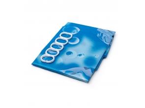 Шторка для ванны 170х180 атласная YA02c