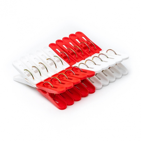 Прищепки пластмасс 20шт в упаковке С925 с