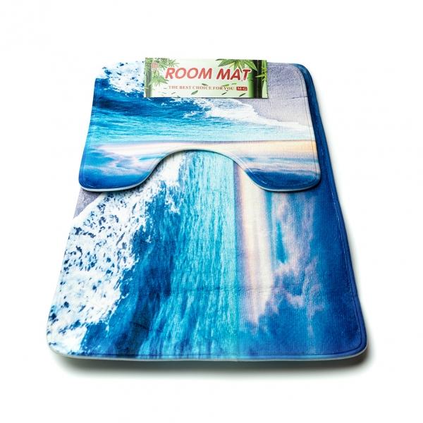 Коврик для ванной комнаты Room Mat набор 2шт с