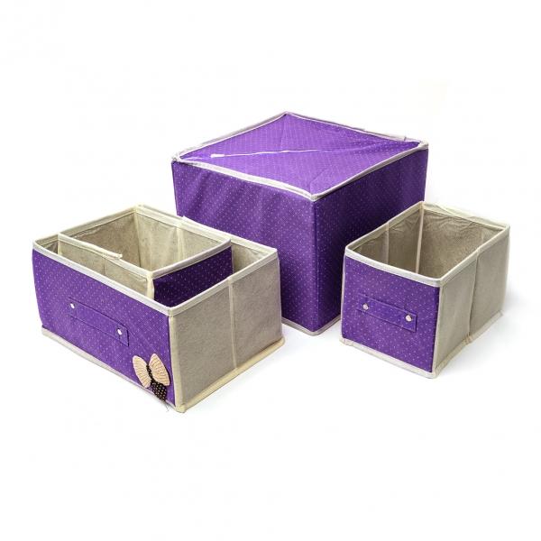 Короб органайзер для хранения 3отделения с