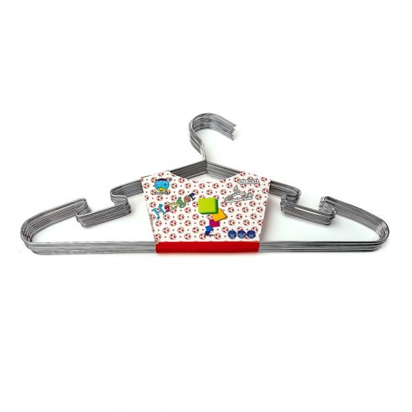 Плечики для одежды металлические 1шт (8340) с