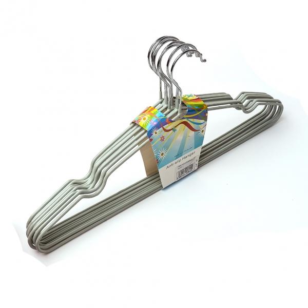Плечики для одежды с силиконовым покрытием с