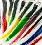 Косичка-тресс искусственная цветное затенение с