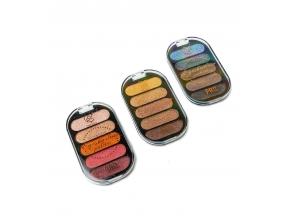 Тіні для повік Eyeshadow 5 кольорів 7236 c