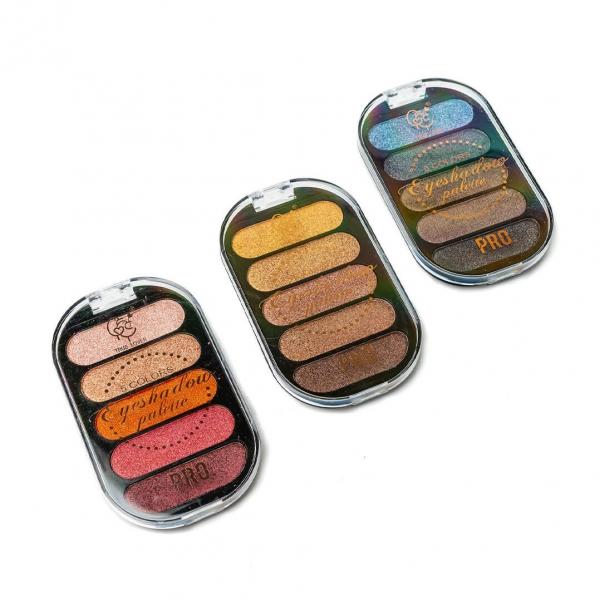 Тени для век Eyeshadow 5 цветов 7236 c