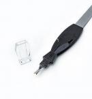 Пилочка для ногтей с резцом 0186 с