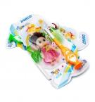 Зубная щетка детская Dorco с игрушкой 108 с