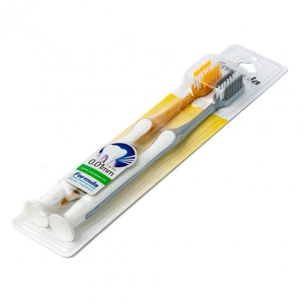 Зубная щетка Formula 2шт 201 (2019)c