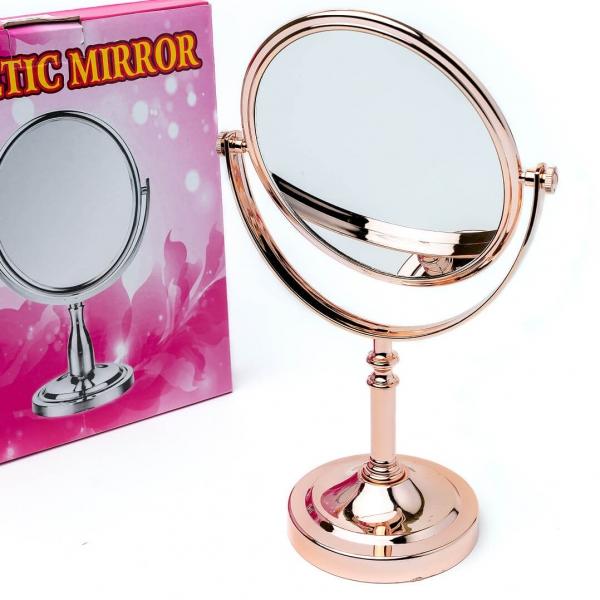 Зеркало двухстороннее на подставке овальное (00734) с