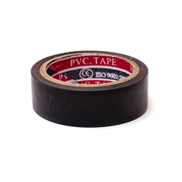 Лента изоляционная PVC-TAPE чорная 5м c