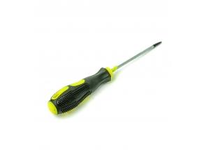 Викрутка з гумовою ручкою 7см 3068-4 с