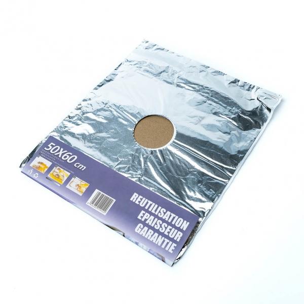 Фольга алюминиевая для плиты 50х60 см с