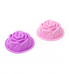 Форма для выпечки мафинов силиконовая Роза 1шт с