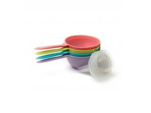 Лійка-сито трансформер пластикова 15х18см (0221)с