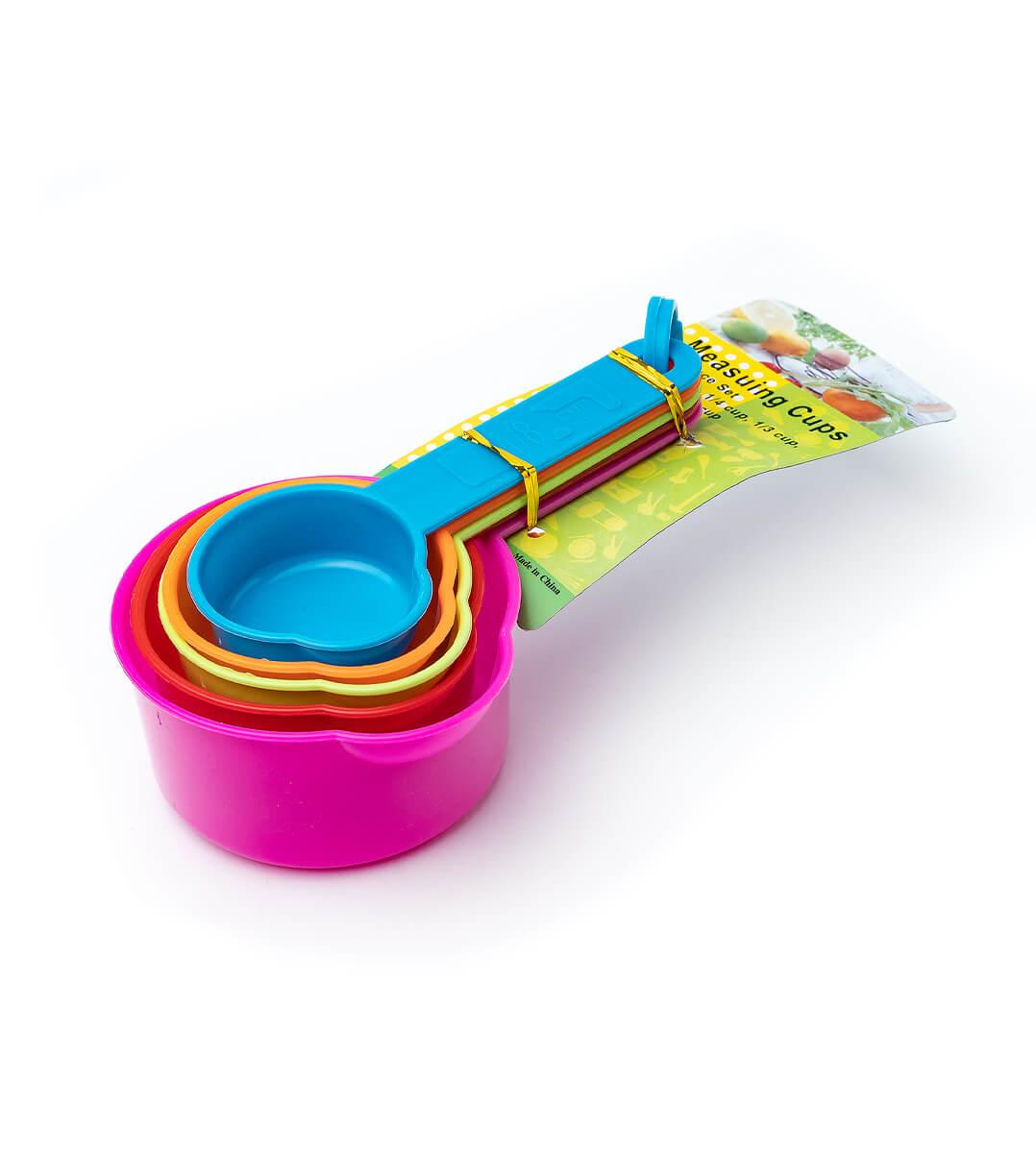 Мерка-ковшик пластик набор 5шт с