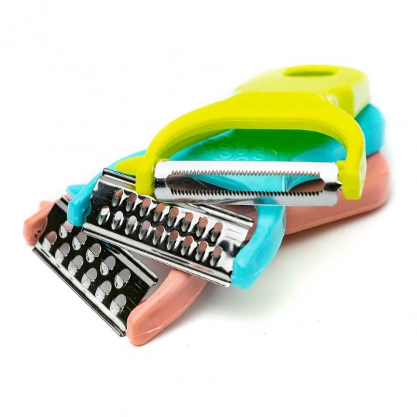 Нож универсал н-р 3шт пластик ручка на планшете с