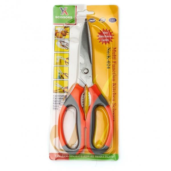 Ножницы кухонные К-024 на планшете с