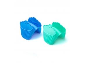 Прихватка силикон 1шт кекс с