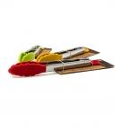 Щипцы силиконовые кухонные металлическая ручка с