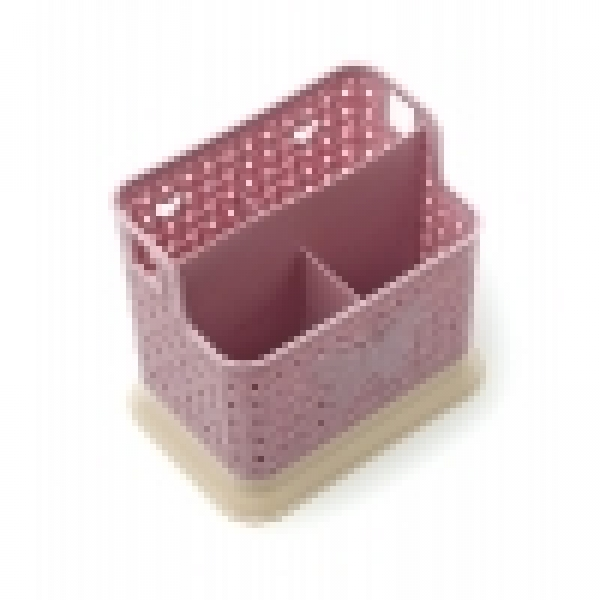 Сушилка для столовых приборов бабочка пластик 4отдела с