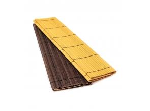 Килимок для сервірування бамбуковий кольоровий (2113) с