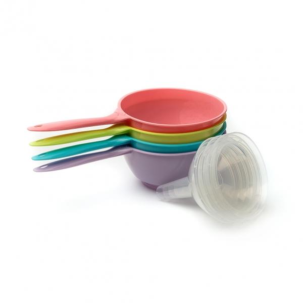 Лейка-сито трансформер пластиковая маленькая с