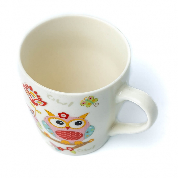 Чашка 250г-керамика сова 30337 с