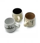 Чашка 350г-керамика бочонок 30083 с