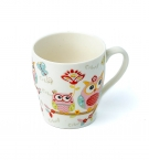 Чашка керамическая 250мл Сова 30337 с