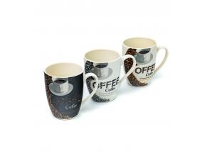 Чашка керамічна 300мл coffee 30396-97 с