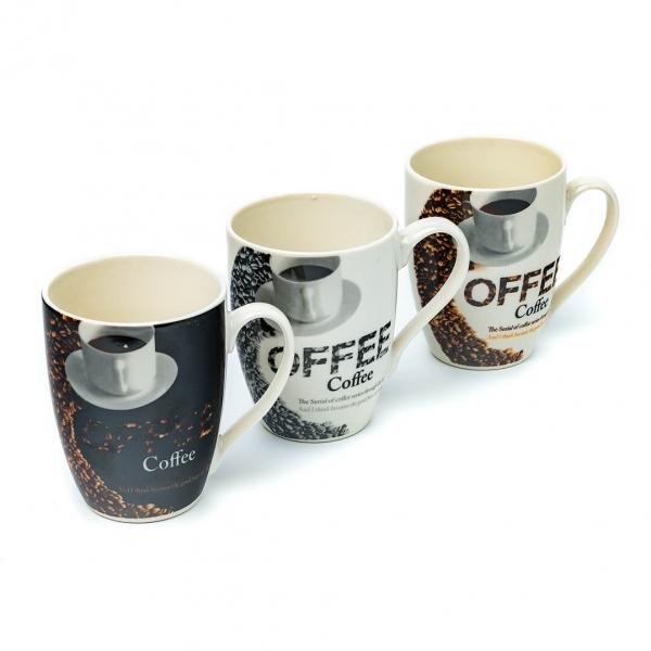Чашка керамическая 300мл coffee 30396-97 с