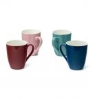 Чашка керамическая 300мл цветная с