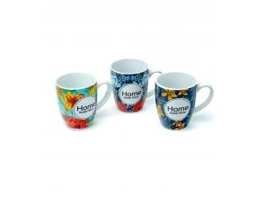 Чашка керамічна 300мл Home 30379 с