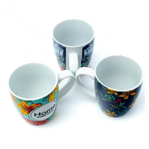 Чашка керамическая 300мл Home с