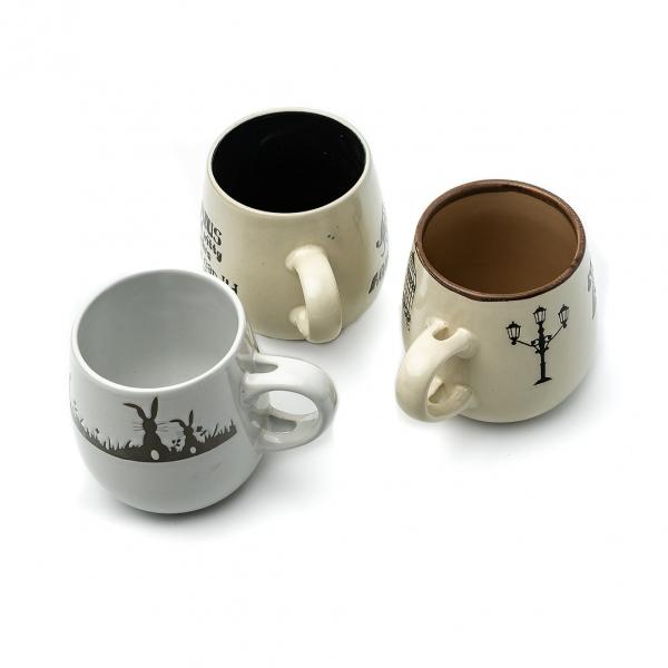 Чашка керамическая 350мл Бочонок с