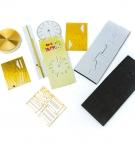Часы настенные 3D наклейки DIY CLOCK (00240) с