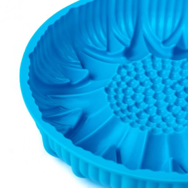 Форма для выпечки силикон подсолнух Д24х4см с