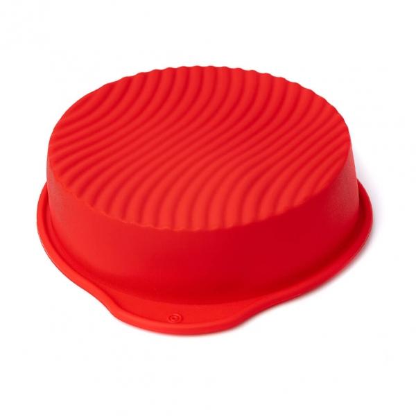 Форма для выпечки силикон волна Д20х5см с