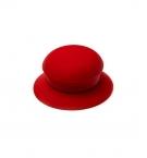 Ручка для крышки силиконовая круглая красная 1шт с