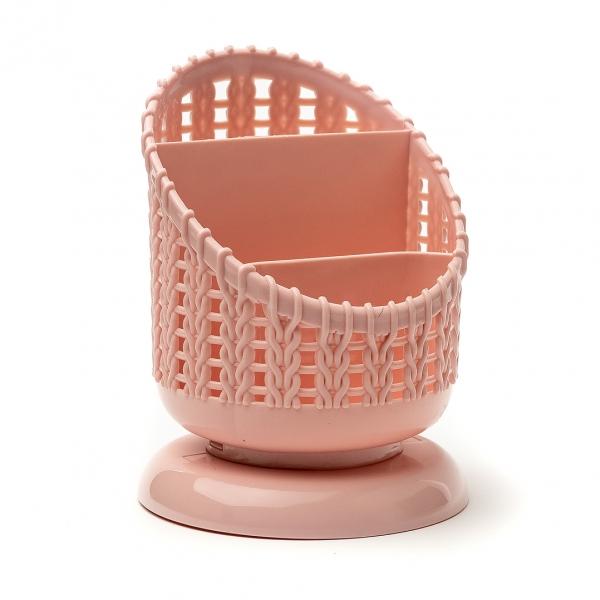 Сушилка для столовых приборов пластик Ажур 598 с
