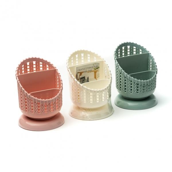 Сушилка для столовых приборов пластиковая Ажур (598) с