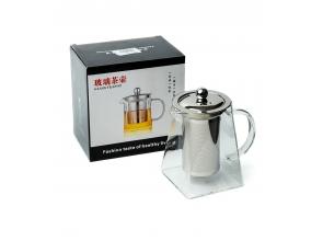 Чайник заварювальний скляний 750мл Glass Teapot c