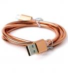 Кабель USB в металл оплётке с
