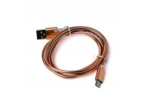 Кабель USB в металевому обплетенні с